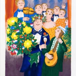 Tavla Jubilaren av Lennart Jirlow