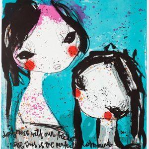 Tavla Dreamers av Lisa Rinnevuo