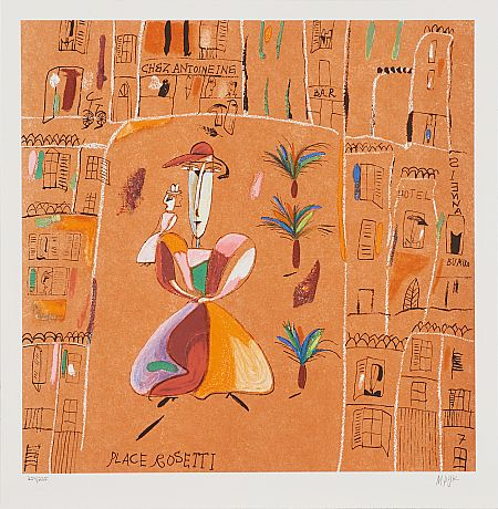 Tavla Place rosetti av Madeleine Pyk