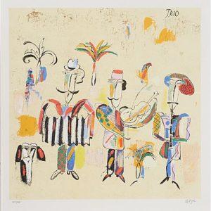 Tavla Trio av Madeleine Pyk