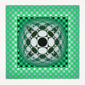 Tavla Louisiana 2 av Victor Vasarely