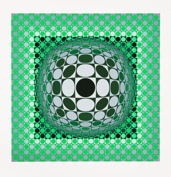 Tavla Louisiana 2 av Victor Vasarely