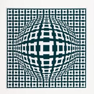 Tavla Nobel II av Victor Vasarely